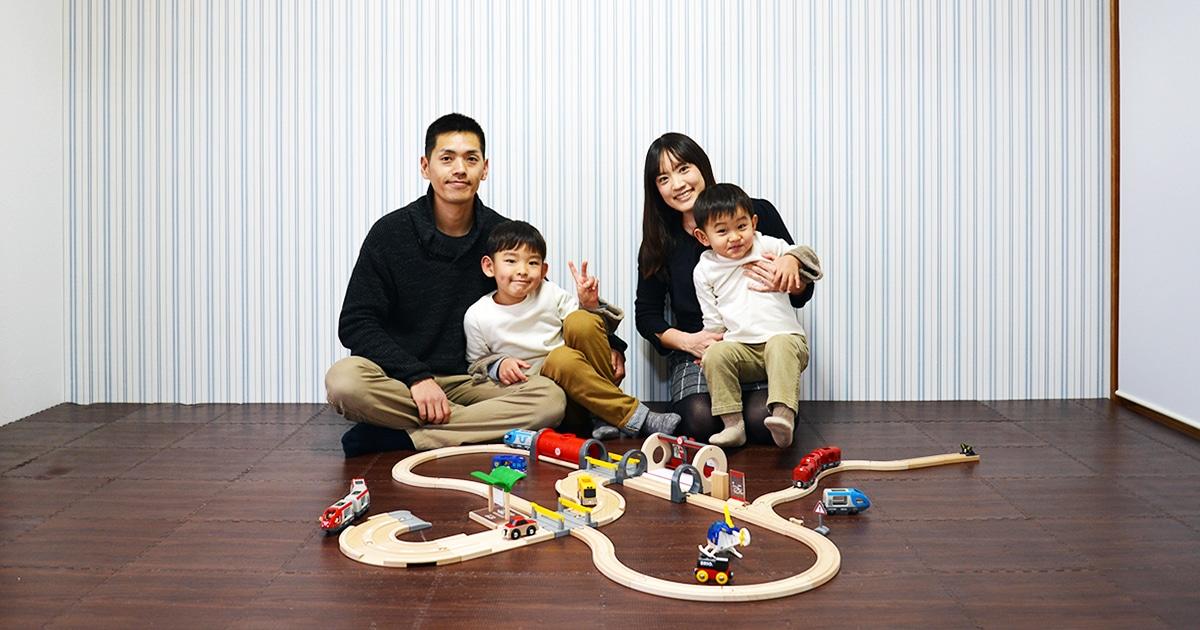 3人の男の子のための子供部屋