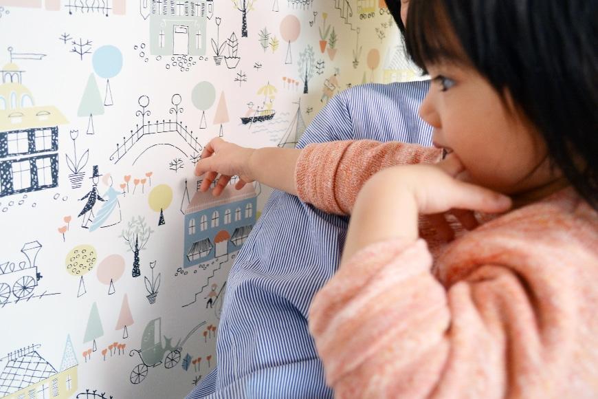 「海外の子ども部屋」が憧れでした。