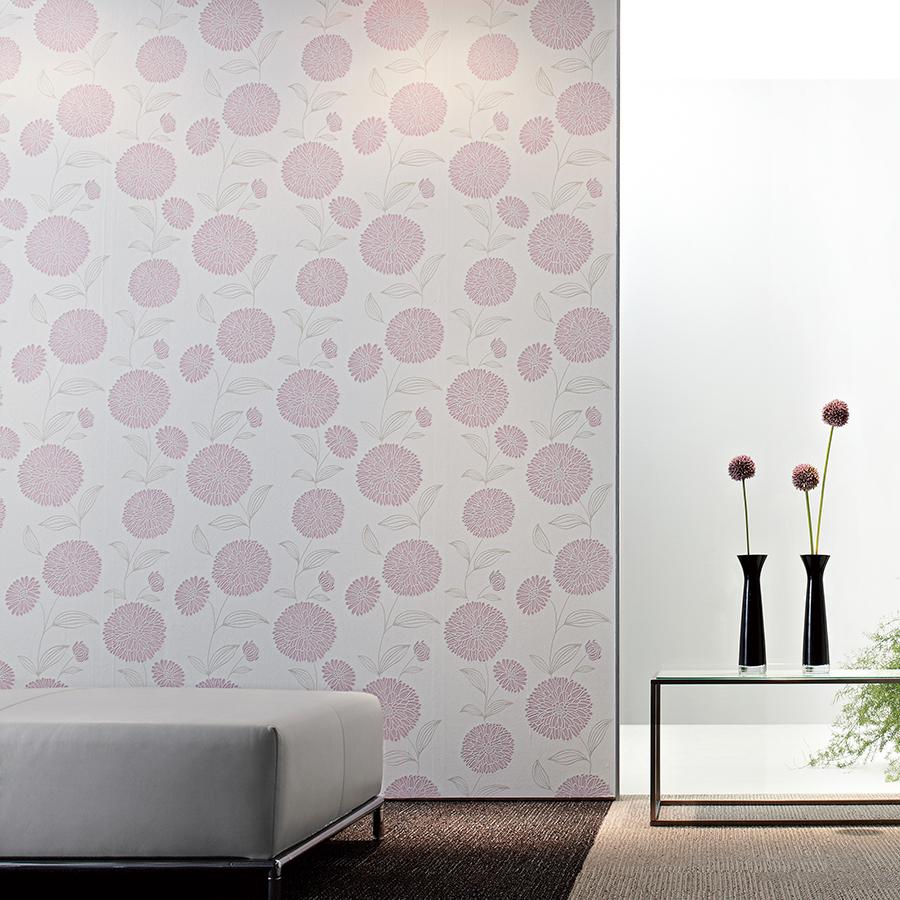 カジュアルで大胆な花柄 Re壁 リカベ 壁紙から くらしを