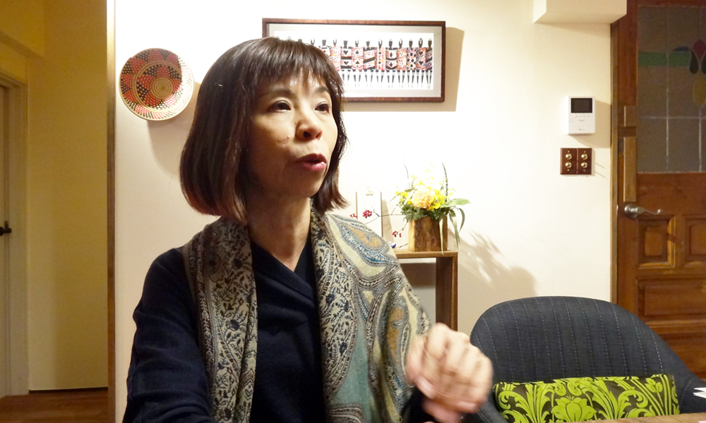 Re壁ボイス 久保栄子さん