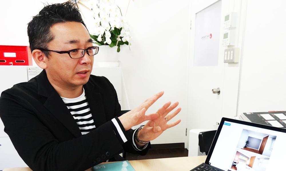 Re壁Voice ソルトステージング株式会社 代表 田中正彦さん